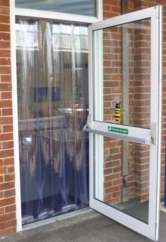 pvc strip curtains pvc plastic door strips and curtainsdoortech